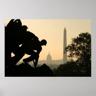 Mañana de Iwo Jima Póster