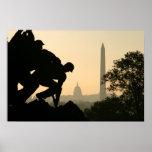 Mañana de Iwo Jima Posters
