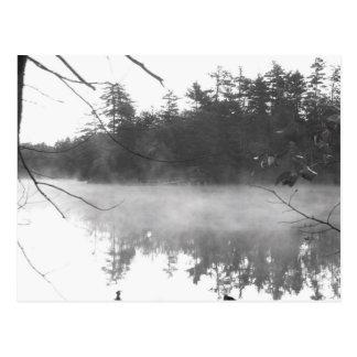 mañana de la casa del lago postales