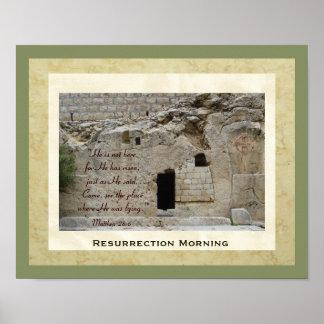 Mañana de la resurrección póster