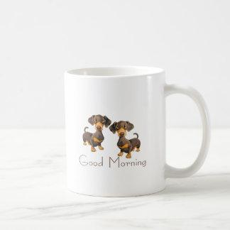 mañana de los perritos taza