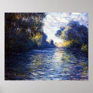 Mañana de Monet en la impresión de la bella arte d Impresiones