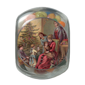 Mañana de navidad del vintage