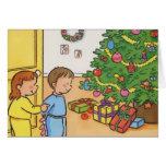 Mañana de navidad felicitacion