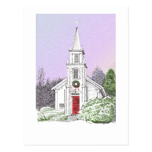 Mañana de navidad tarjetas postales