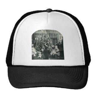 Mañana de navidad - vintage Stereoview Gorros