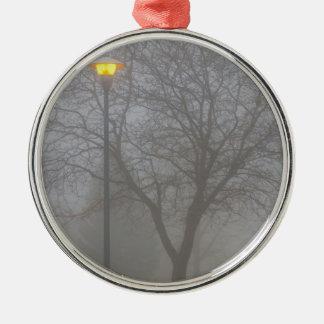 Mañana de niebla ornamentos de reyes
