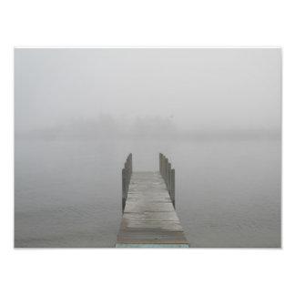 Mañana de niebla impresiones fotográficas