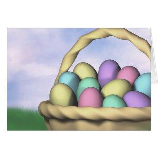 Mañana de Pascua Tarjeta De Felicitación