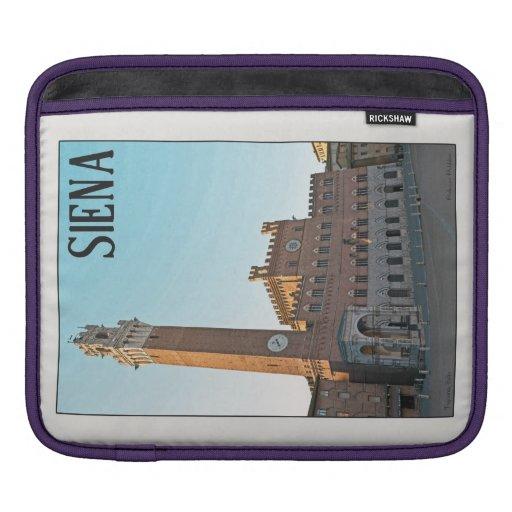 Mañana de Siena Palazzo Pubblico Funda Para iPads