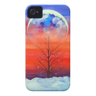 Mañana del invierno iPhone 4 protector