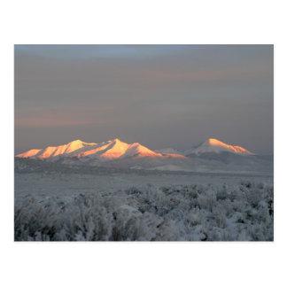 Mañana del Mt. Lindsey Postales