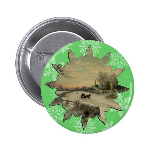 Mañana del navidad - botón #3 pins