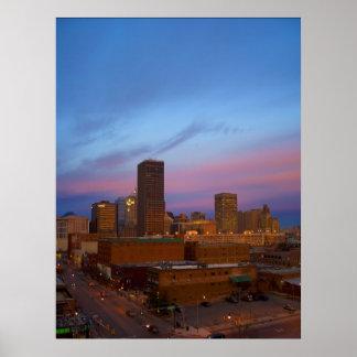 Mañana del Oklahoma City Posters