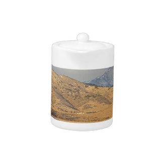 Mañana del país de Colorado de la montaña rocosa