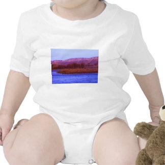 Mañana del río Missouri Traje De Bebé