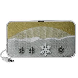 Mañana del solsticio de invierno - collage iPod altavoces