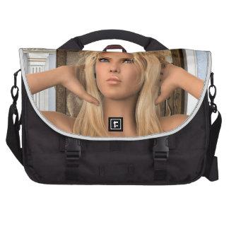 Mañana del vintage bolsas para ordenador