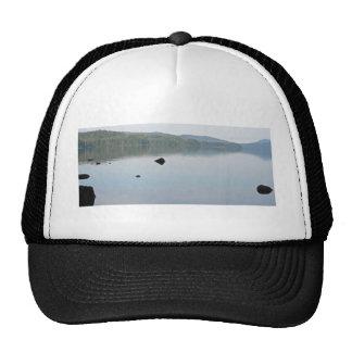 Mañana en el lago Odell, Oregon Gorras De Camionero