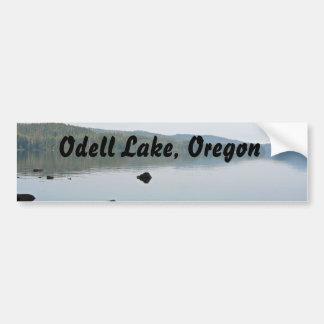 Mañana en el lago Odell, Oregon Pegatina Para Auto