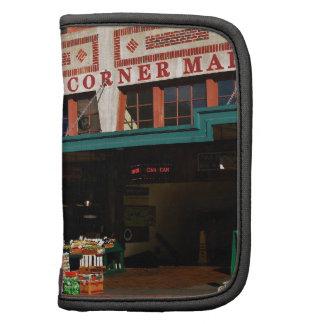 Mañana en el mercado de la esquina organizadores