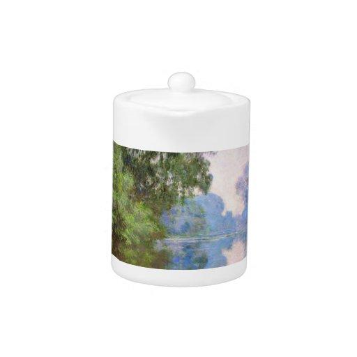 Mañana en el Sena cerca de Giverny Claude Monet