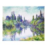 Mañana en el Sena, por Claude Monet Impresión En Lona