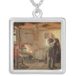 Mañana en la casa de campo de un portero, 1874 colgante cuadrado