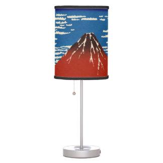 Mañana fina del claro del viento lámpara de mesa