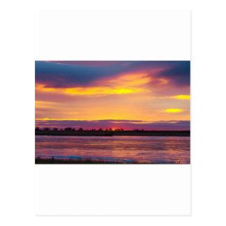 Mañana hermosa tarjetas postales