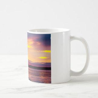 Mañana hermosa taza