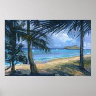 Manana Island Print