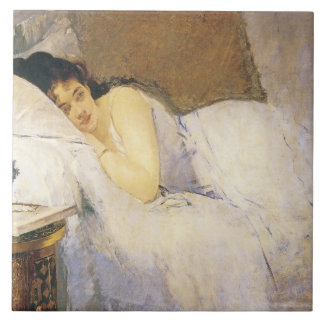 Mañana que despierta - baldosa cerámica grande azulejo