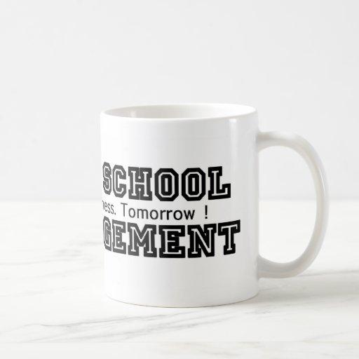 Manana School of Management Classic White Coffee Mug