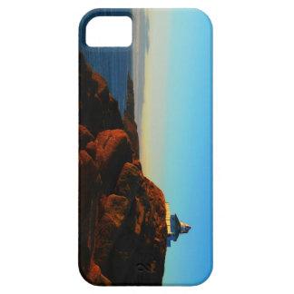 Mañana soleada en la lanza del cabo iPhone 5 carcasas