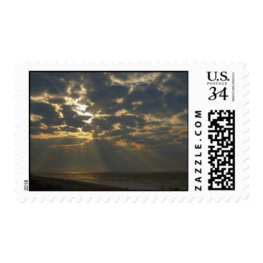 Mañana Sun en el océano - isla del roble, NC