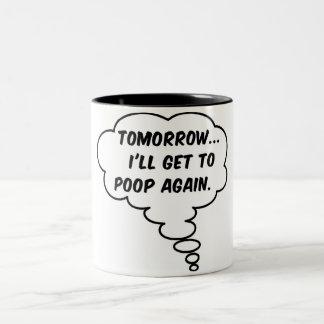 Mañana… Taza Dos Tonos