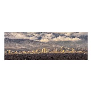 Mañana tempestuosa sobre Reno Fotografías