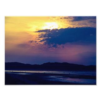 Mañana temprana de la playa de Murlough Fotografias