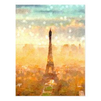 Mañana temprana de París Postales