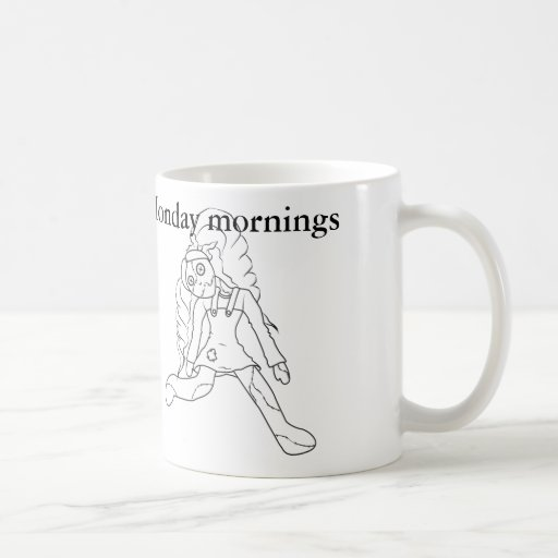 Mañanas de lunes tazas de café