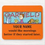 Mañanas Mousepad de Garfield Logobox