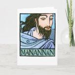 Manannán Greeting Card