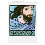 Manannán Greeting Card