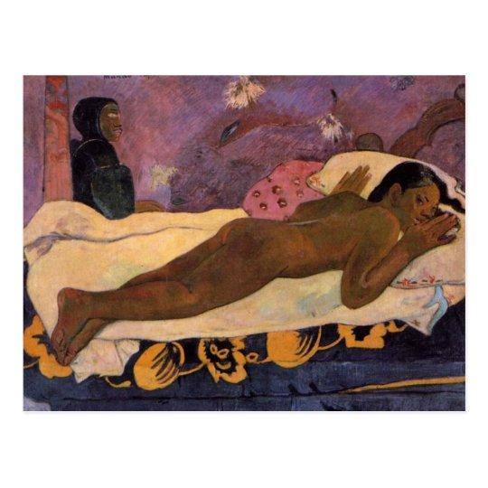 Manao Tupapau - Paul Gauguin Postcard
