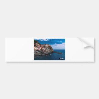 Manarola, cinque terre. Italy Bumper Sticker