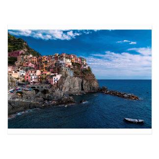 Manarola, cinque terre. Italy Postcard