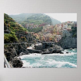 Manarola Italia Posters