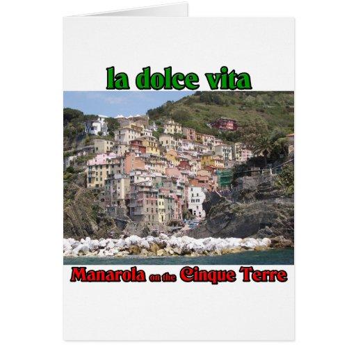 Manarola Italia Tarjeta