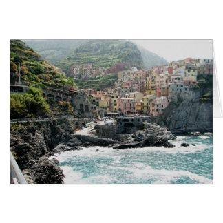 Manarola, Italy Card